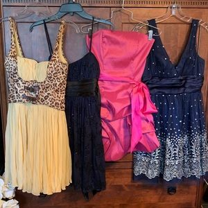 Bundle of 4 party dress! 2 are NWT!